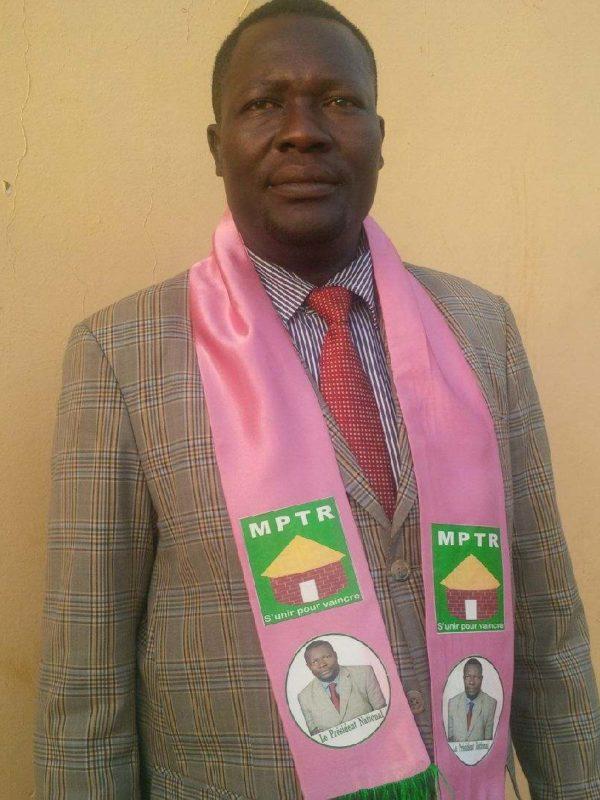 Le Mptr investi Brice Mbaimon candidat à la presidentielle