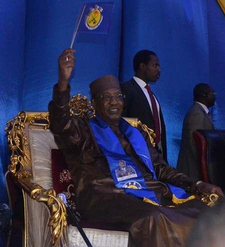 Idriss Deby candidat du MPS