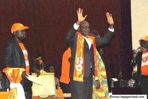 Saleh Kebzabo, candidat à la présidentielle du 10 avril