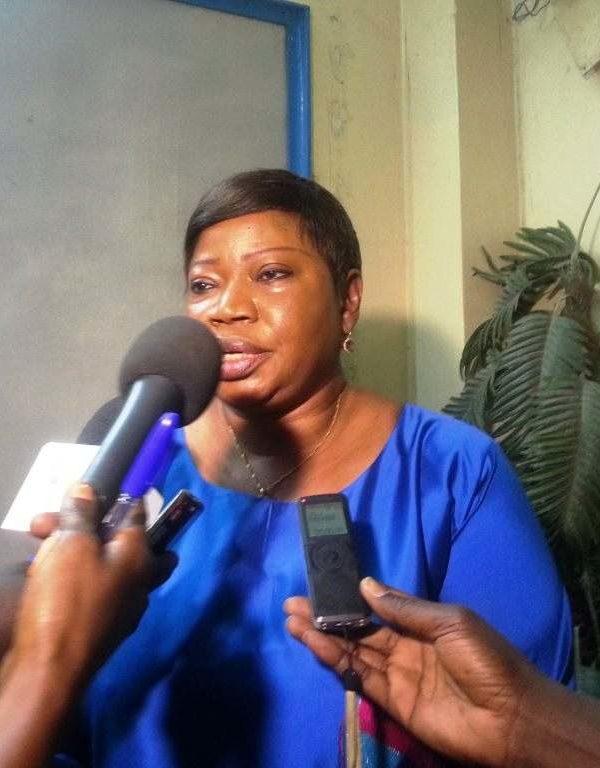 Bensouda sollicite l'aide du Tchad pour enquêter sur les exactions en RCA