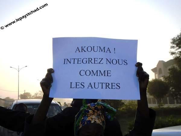Manifestation des diplomés sans emplois