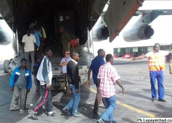 103 tchadiens rapatriés d'Algérie