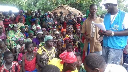 Plus de 4000 nouveaux réfugiés centrafricains fuient leurs pays et  s'installent à la frontière sud du Tchad