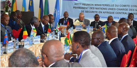 La 42eme réunion ministérielle sur les questions de sécurité à Bangui