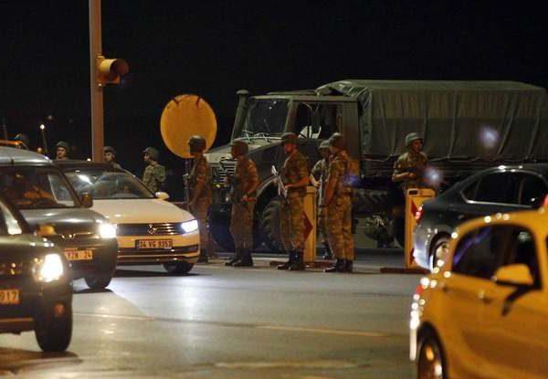 Tentative de coup d'Etat en Turquie
