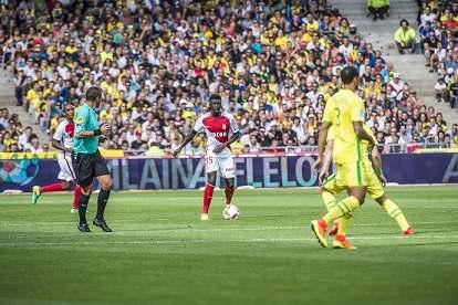 Kevin N'Doram marque les points pour son premier match pro à l'AS Monaco