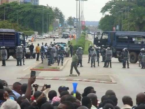 Bongor: Tirs et course poursuite étudiants- forces de l'ordre