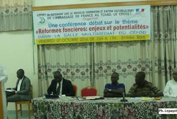 Le CROSET  souhaite une réforme foncière au Tchad