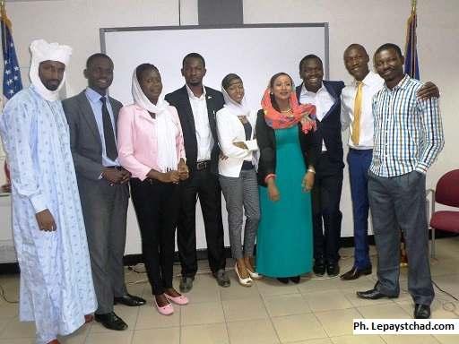 De jeunes leaders Tchadiens s'inspirent des Etats-Unis d'Amérique