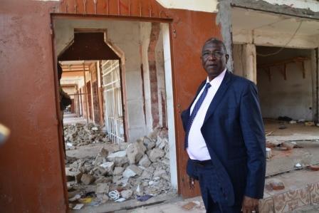 Le maire de N'Djaména redonne au marché central son architecture initiale