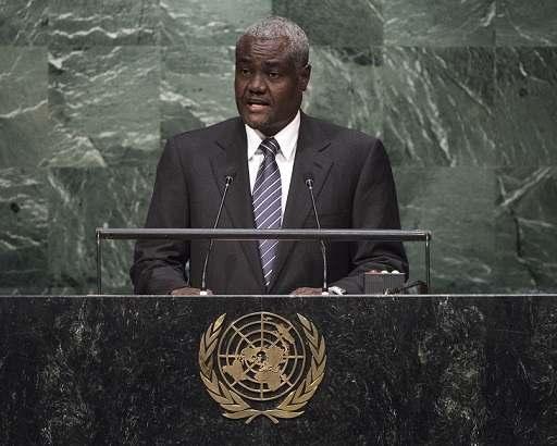 Moussa Faki, candidat à la présidence de l'Union Africaine