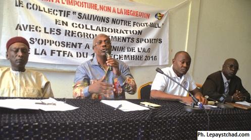 Le collectif ''Sauvons notre football'' dit non à la tenue de l'AG de la FTFA