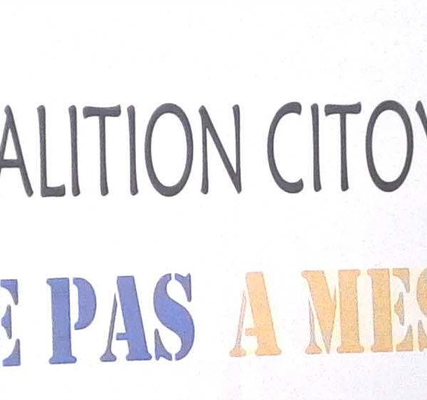 Coalition Citoyenne « Touches pas  à mes acquis » lance ses activités