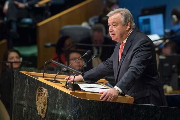 Antonio Guterres : La paix doit être notre objectif et notre guide