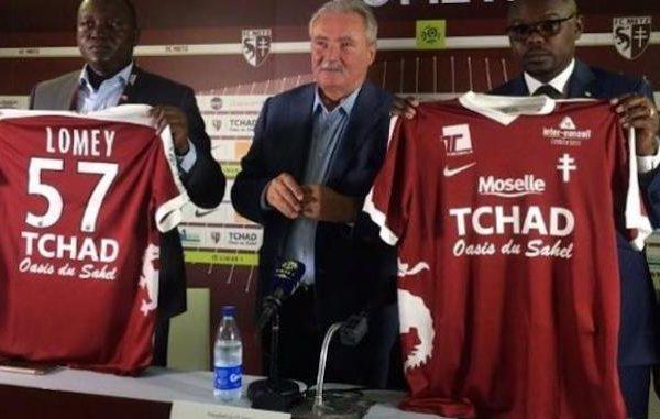Le FC Metz dénonce son contrat avec le Tchad, sponsor qui ne paie pas