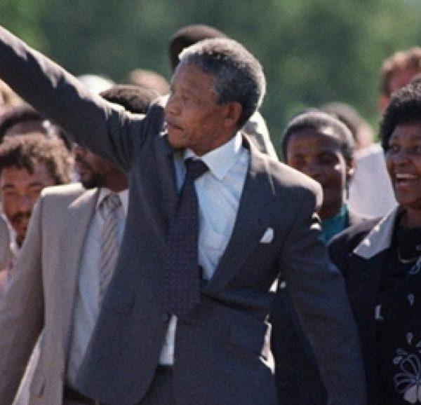 Ce jour-là 11 février 1990, Mandela est libre