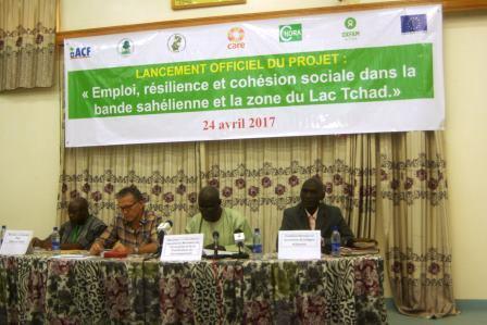 Oxfam lance le projet d'emploi, de résilience et cohésion sociale