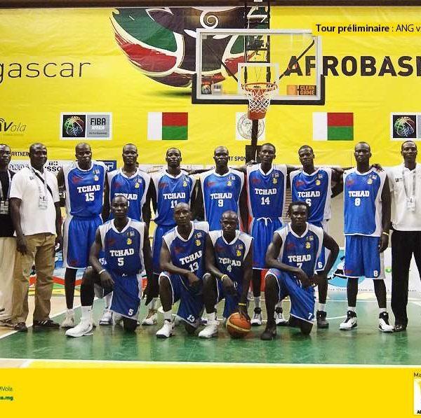 Une seconde chance pour les basketteurs tchadiens pour l'Afro-basket 2017