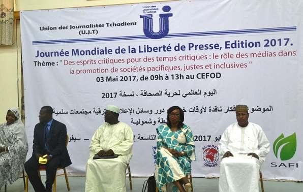 Les journalistes tchadiens plaident pour leur sécurité