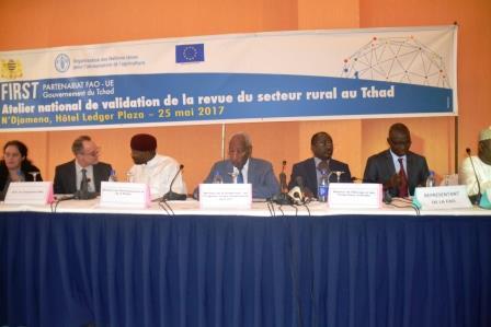 Validation d'un document de la revue du secteur rural au Tchad