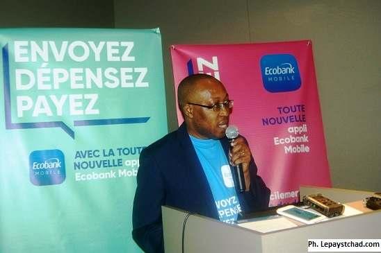 Ecobank Tchad lance l'application « Ecobank mobile »