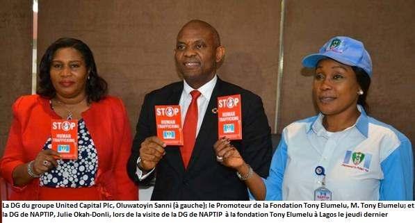 Tony Elumelu: le trafic d'êtres humains est diabolique, il prive notre jeunesse de dignité et d'opportunités
