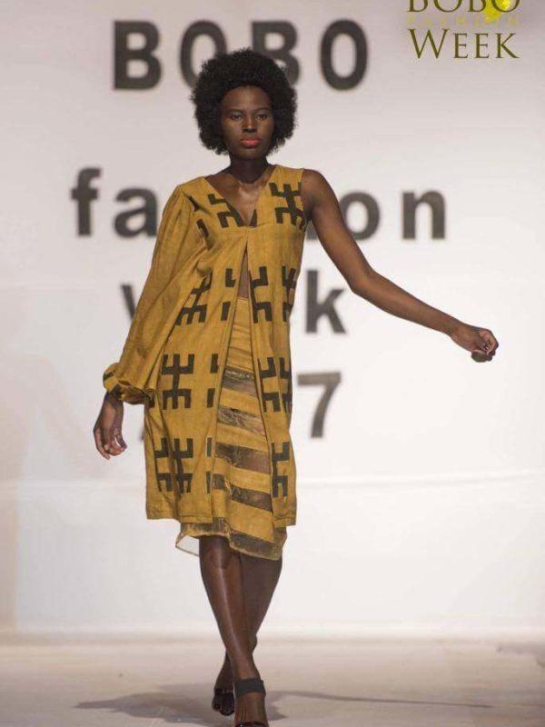 Mannequinat : notre compatriote Djimtoïdé Ines bat les meilleures beautés du Faso