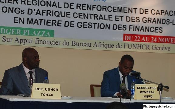 Renforcement des capacités des Ongs d'Afrique centrale et des Grands-Lac