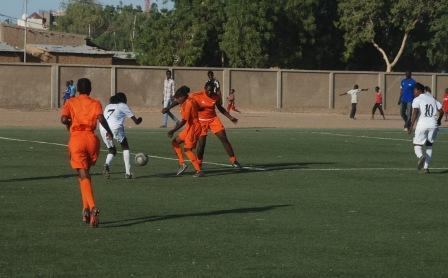 Lancement du tournoi de football féminin « Jouer pour le développement»