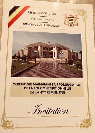 La nouvelle constitution sera promulguée demain vendredi