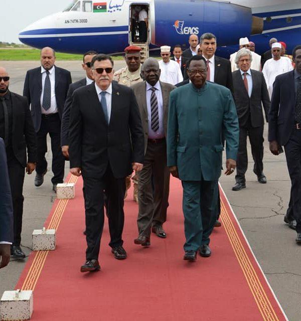Visite de travail du président du conseil présidentiel de l'Etat de Lybie