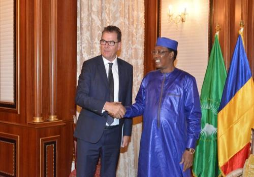 Le développement et la bonne gouvernance au menu de la visite de Gerd Muller au Tchad