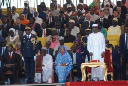 Célébration du 58eme anniversaire de l'indépendance du Tchad