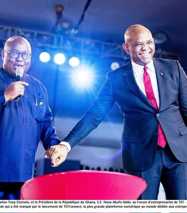 Forum annuel de la Fondation Tony Elumelu, la plus grande messe entrepreneuriale africaine