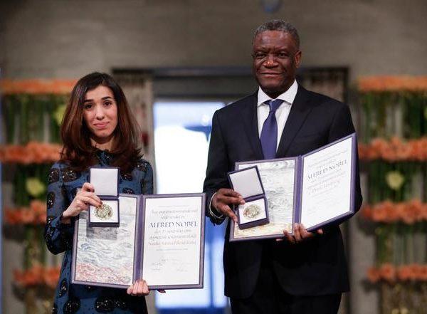 Prix Nobel de la paix 2018 : discours intégral de Dr Denis Mukwege