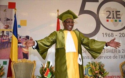 Deuxième titre « Docteur honoris causa » pour le président Deby