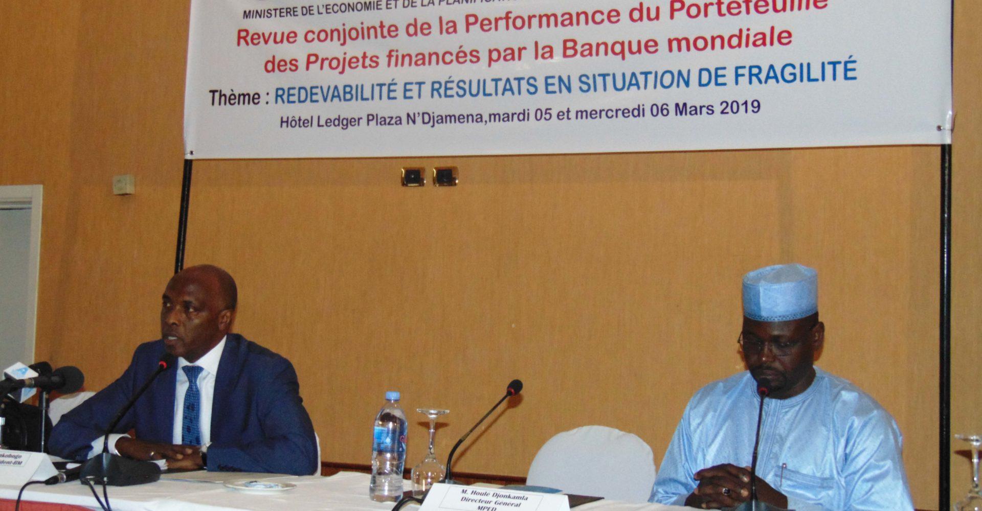 Le Tchad et la Banque mondiale examinent leur partenariat 1