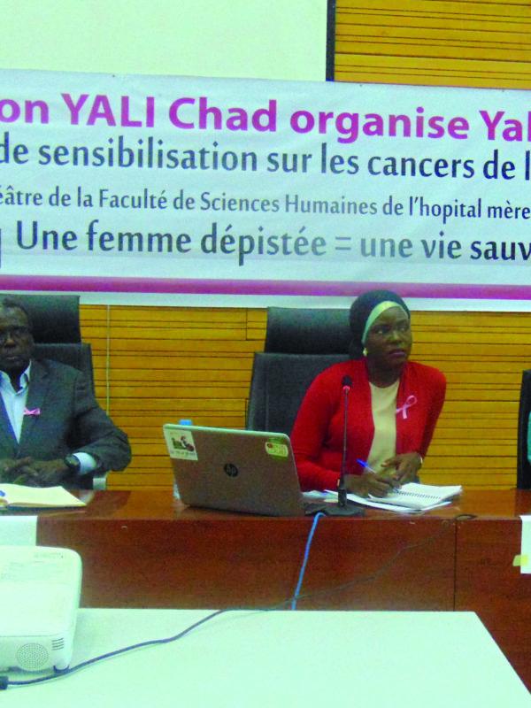 Yali Tchad en guerre contre le cancer de sein et du col de l'utérus