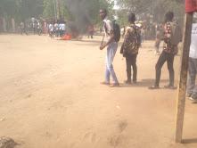 Les étudiants de l'Université de N'Djaména manifestent contre les frais d'inscription 1