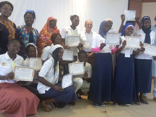 Les lycéennes initiées en leadership féminin se regroupent en réseau