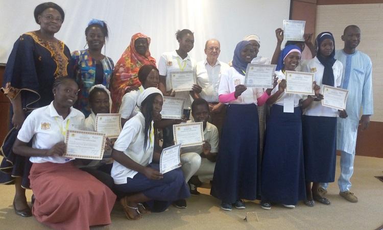 Les lycéennes initiées en leadership féminin se regroupent en réseau 1