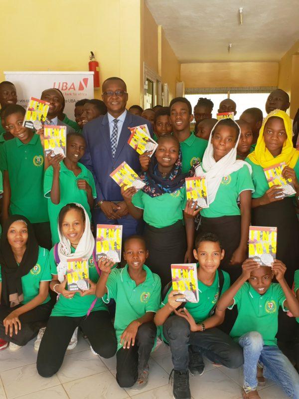 La Fondation UBA octroie 300 livres à l'Ecole tchado-canadienne