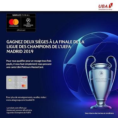 UBA-Mastercard : un partenariat pour récompenser les clients avec un voyage tous frais payés pour assister aux demi-finales et à la finale de la Ligue des Champions de l'UEFA 1