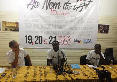 Mawndoé Célestin lancera ''Au nom de l'art'' en mars prochain