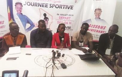 Miss Tchad annonce une journée sportive 1