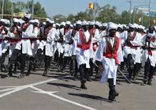 Un défilé militaire pour célébrer les 59 ans d'indépendance du Tchad
