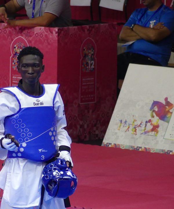 Jeux africains : Bétel Casimir offre au Tchad sa deuxième médaille
