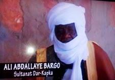 Décès du Sultan du Dar-Kapka 1