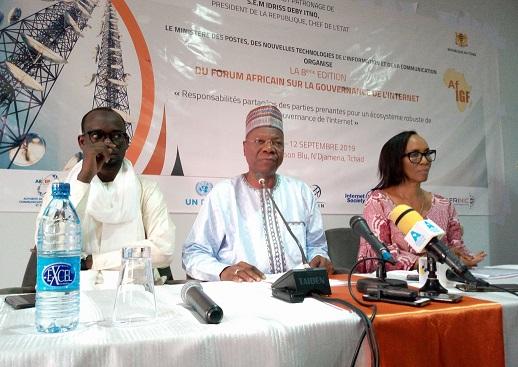N'Djaména abritera du 10 au 12 septembre le 8ème forum africain sur la gouvernance de l'Internet