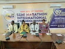 Le Marathon international N'Djamena-Kousseri aura lieu le 7 septembre prochain